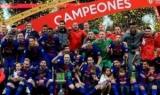 «Барселона» в то время как